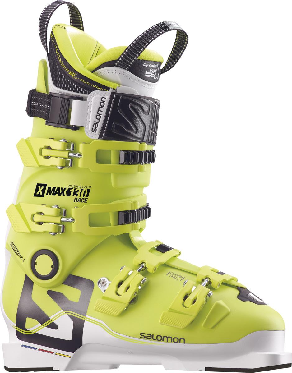 Pánské lyžařské boty Salomon X MAX Race 130 Acide Green 17 18 ... c3642ee93b