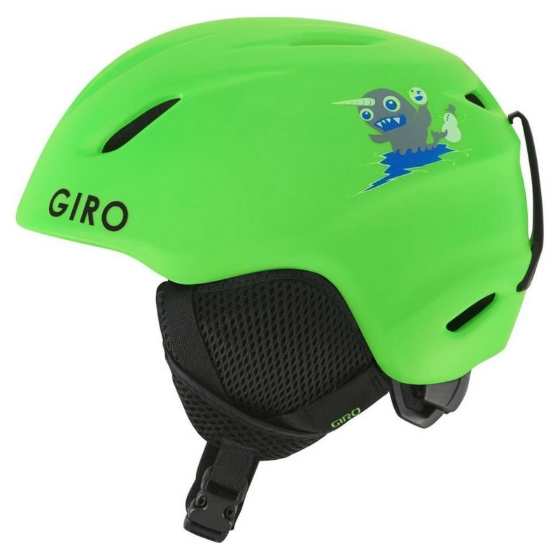 Detská lyžiarska prilba Giro Launch Matte Green 17 18  a9e45467b64