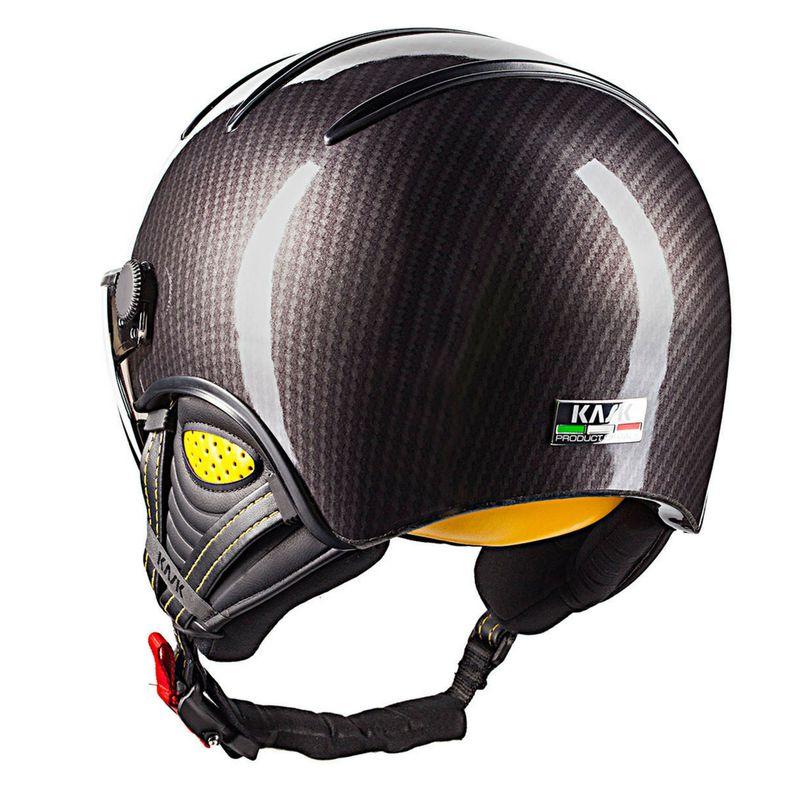 b482f909b Lyžiarska prilba so štítom Kask Elite Pro Carbon/Black Yellow | SKIMAX.SK