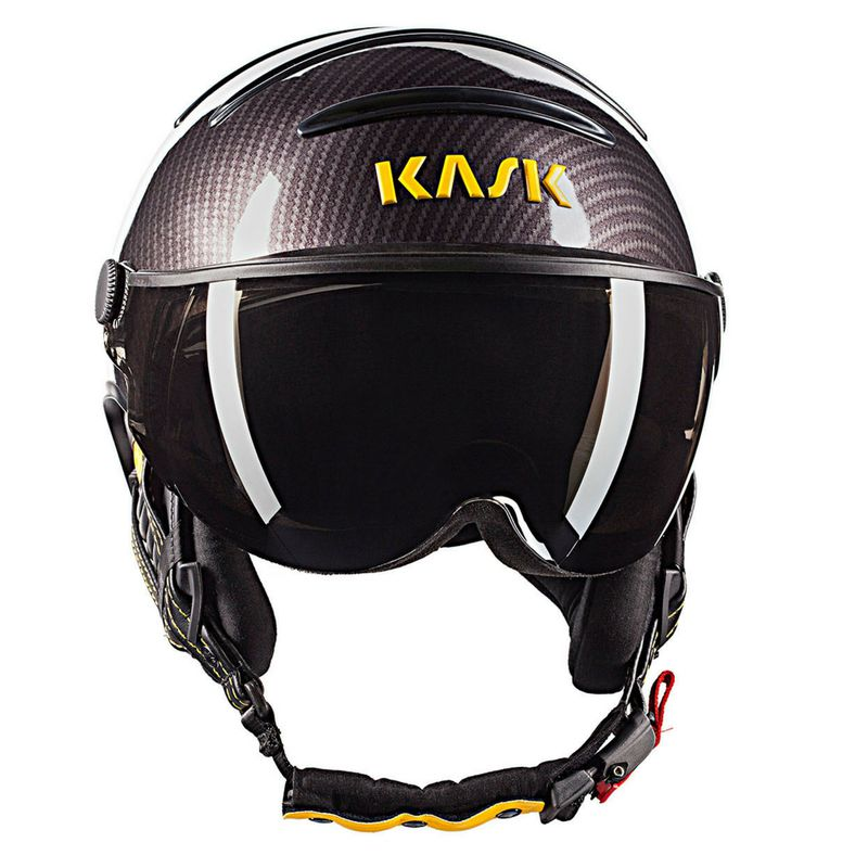 f9d105409 Lyžiarska prilba so štítom Kask Elite Pro Carbon/Black Yellow ...