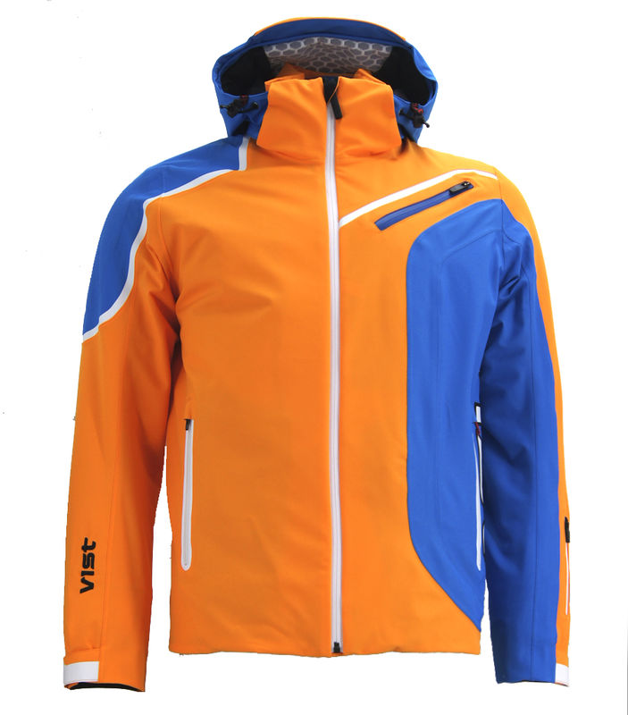 89ed8a9d2 Previous. Panska lyzarska bunda Vist Alfredo Orange-Water-White ...