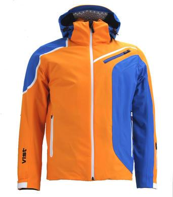a612c986bc4 Pánská lyžařská bunda Vist Alfredo Orange Water White