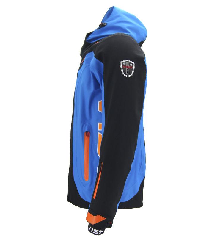 Pánská lyžařská bunda Vist Alfredo Black Water Orange  e2727fbb684