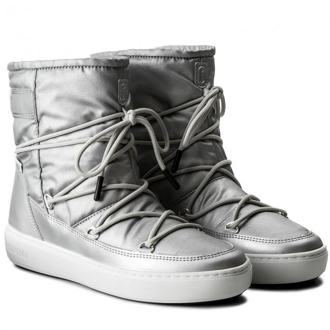 acc6accdd7 Dámske strieborné topánky Moon Boot Pulse Nylon Plus WP Argento ...