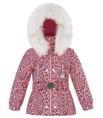 Dětská lyžařská bunda Poivre Blanc W18-1008 BBGL A Punch Pink Leopard f4eab9731f1