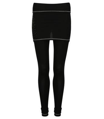 Damske funkcni kalhoty Sno Queen 2 v 1 Black.jpg