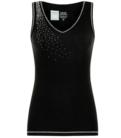 Damske tilko SNo Queen Classic Vest Black (1).png