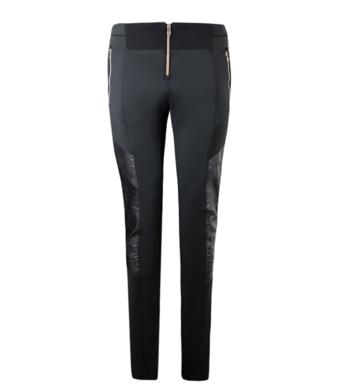 Damske kalhoty EA7 Jersey Trouser 6ZTP72 Black.png