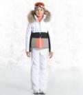 Detska lyzarska bunda Poivre Blanc W18-1002 JRGLA WhiteMulticolor (1).png