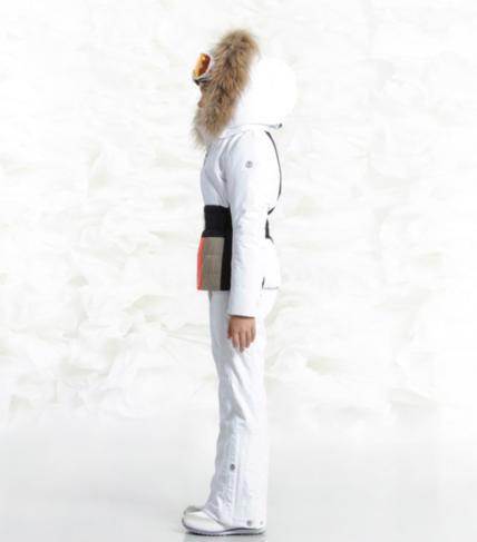Detska lyzarska bunda Poivre Blanc W18-1002 JRGLA WhiteMulticolor (3).png