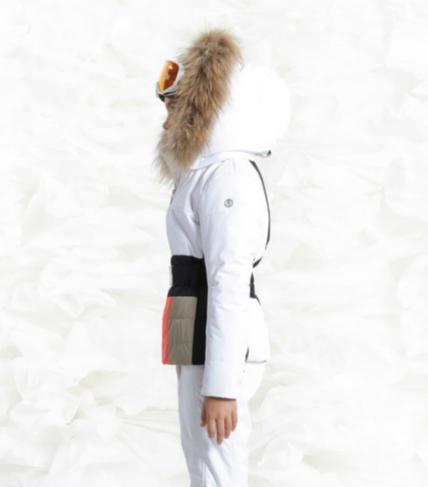 Detska lyzarska bunda Poivre Blanc W18-1002 JRGLA WhiteMulticolor (4).png