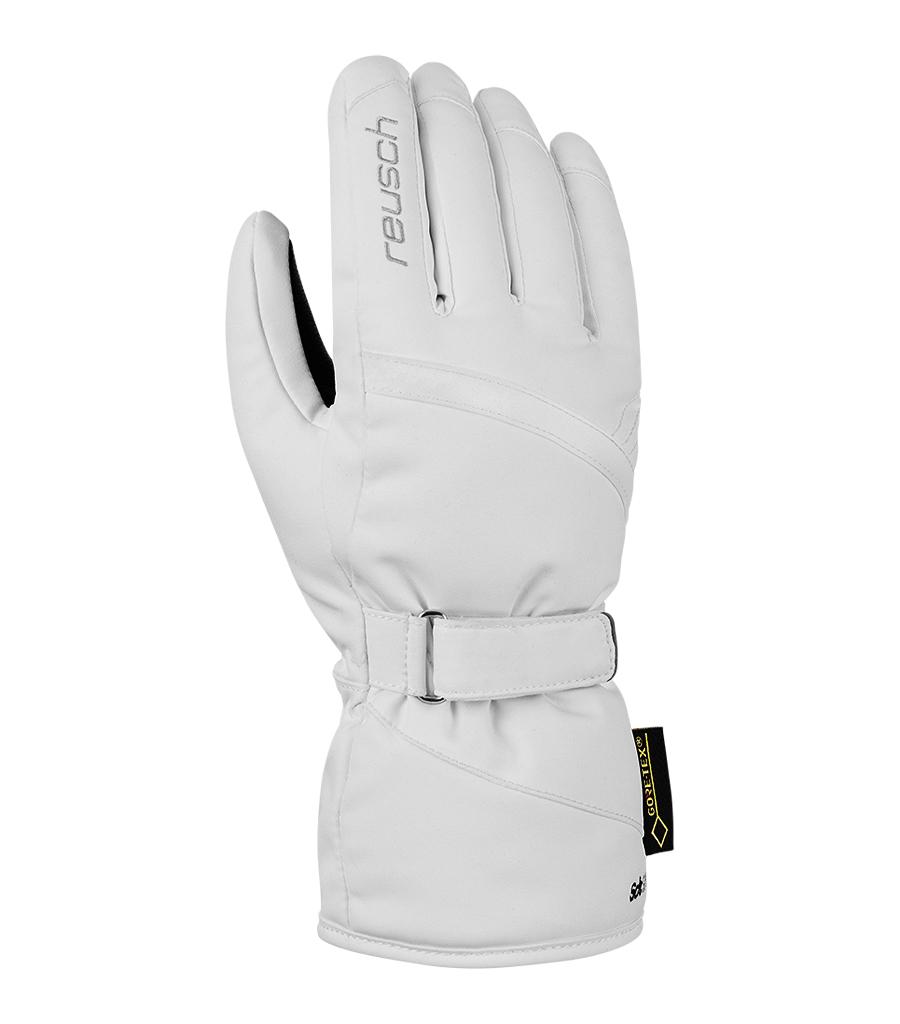 Dámské lyžařské rukavice Reusch Alexa GTX 100 White  853562a70f