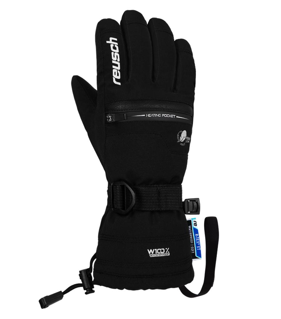Dětské lyžařské rukavice Reusch Luis R-TEX 701 Black White  7364526746