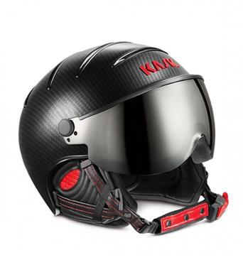 Lyzarska helma se stitem KASK Elite Pro 300 Black Red.jpg