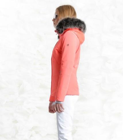 Damska lyzarska bunda Poivre Blanc W18-0802 WOB Nectar Orange (2).jpg