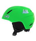 Detska lyzarska helma Giro Launch Mat Bright Green Tagazoo.jpg