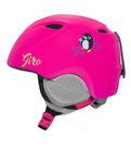 Detska lyzarska helma Giro Slingshot Mat Bright Pink Penguin.jpg