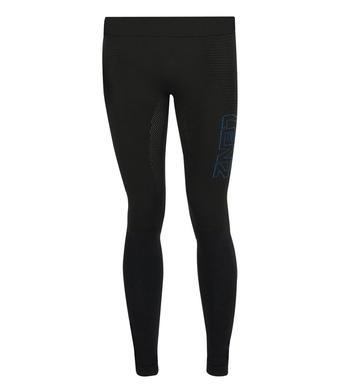Panske funkcni kalhoty Lenz Long Pant 3.0 Black Blue 1_.jpg