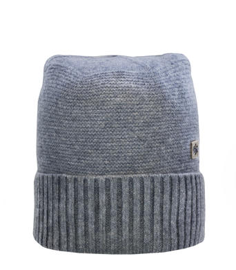 Panska zimni cepice Granadilla Cachemire Brim Med Grey 003.jpg