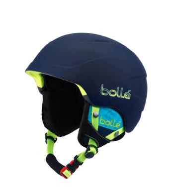 Detska lyzarska helma Bolle B-Lieve Soft Blue Spray.jpg