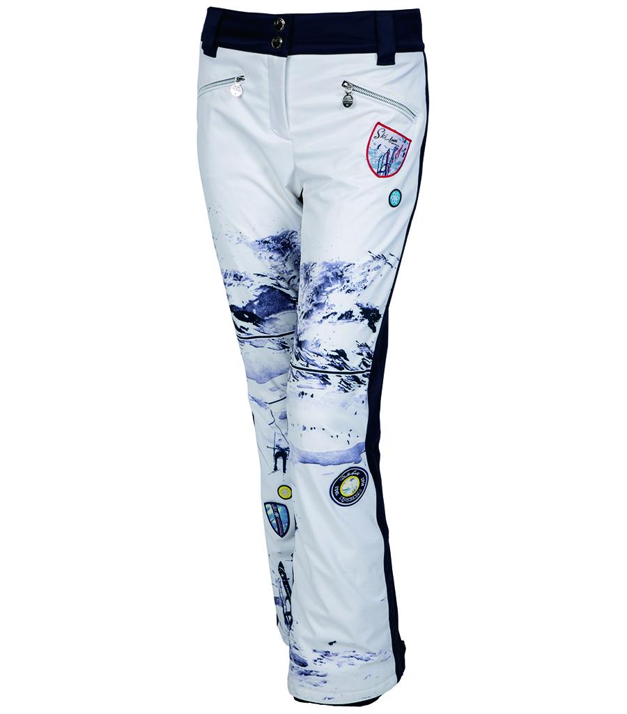 ed4e092d6175 Dámské lyžařské kalhoty Sportalm Jump Druck 1953 42