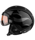 Lyzarska helma se stitem Bogner B-Visor Flames Black.jpg