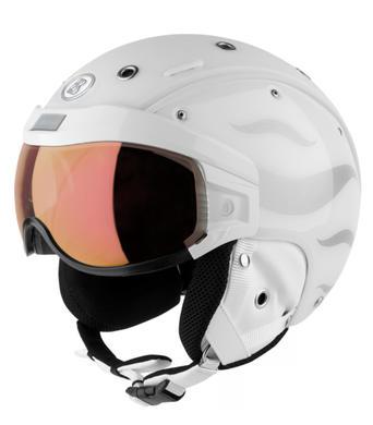Lyzarska helma se stitem Bogner B-Visor Flames White.jpg