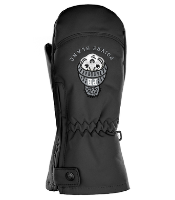 Detske lyzarske rukavice Poivre Blanc W18-0973 BBBY Black.png