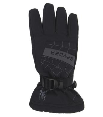 Detske lyzarske rukavice Spyder Overweb 015 Blk-Yel.png