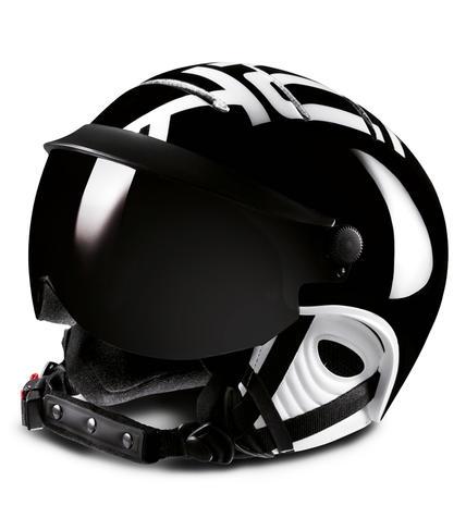 Lyzarska helmase stitem Kask Style Black White.jpg