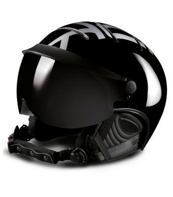 f43b88bbb Lyžiarska prilba so štítom Kask Style Black/Silver