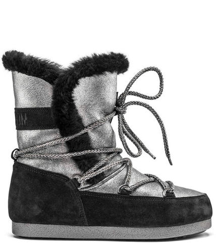 Damske zimni boty Moon Boot Far Side High Shear SilverBlack.jpg