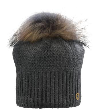 Damska zimni cepice Granadilla Sparkle Beanie Chic Dk Grey 002.png
