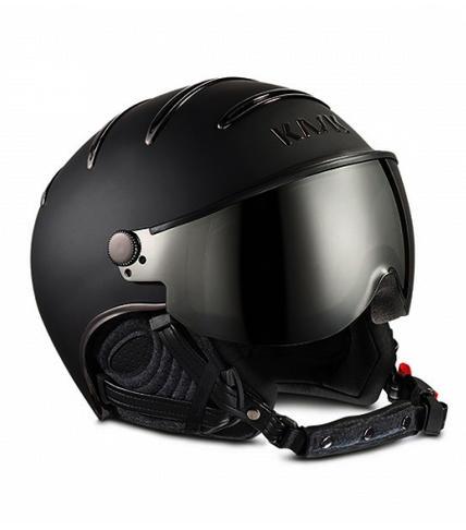 Lyzarska helma se stitem Kask Chrome 210 Black 1.jpg
