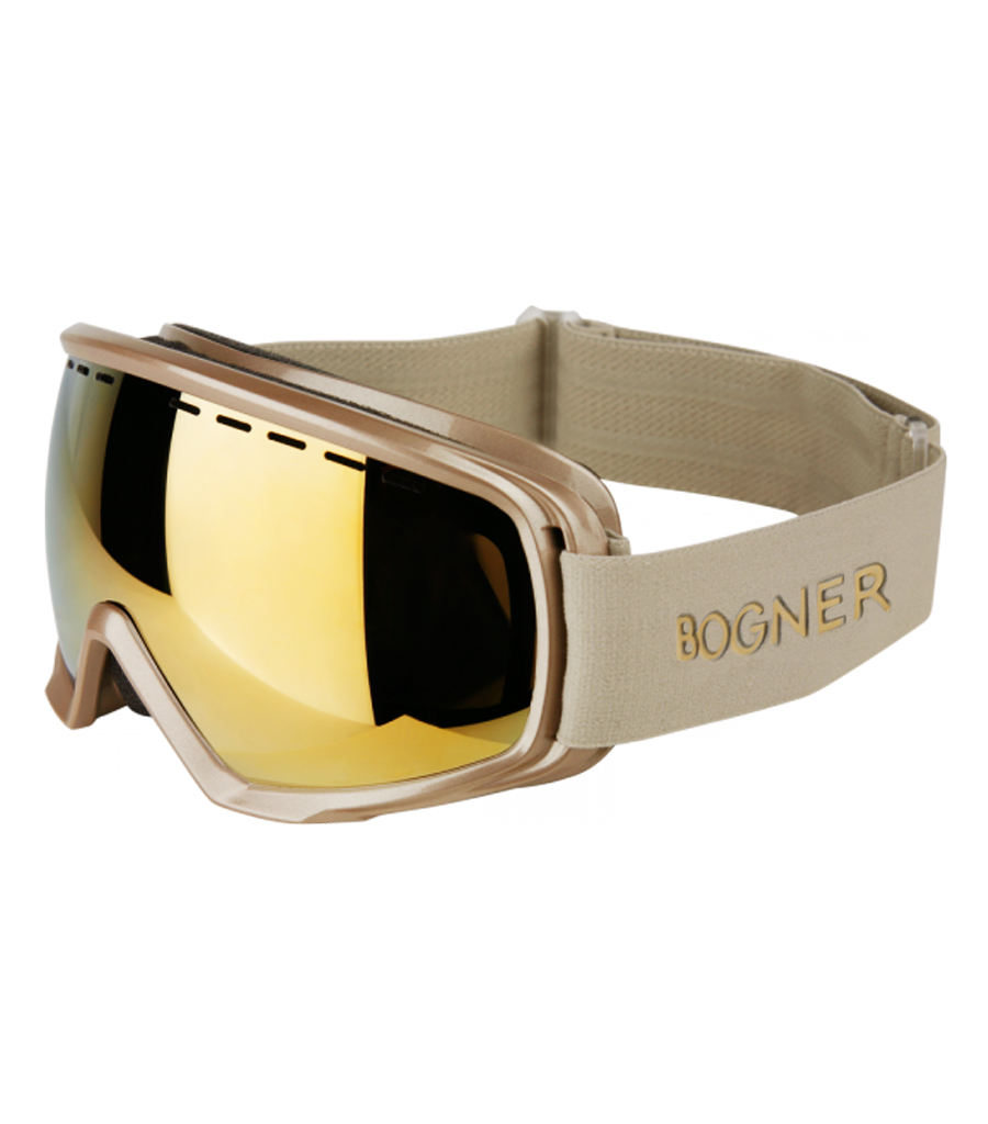 7ee77b56457 Bogner Snow Goggles Monochrome Champagne Gold 17 18