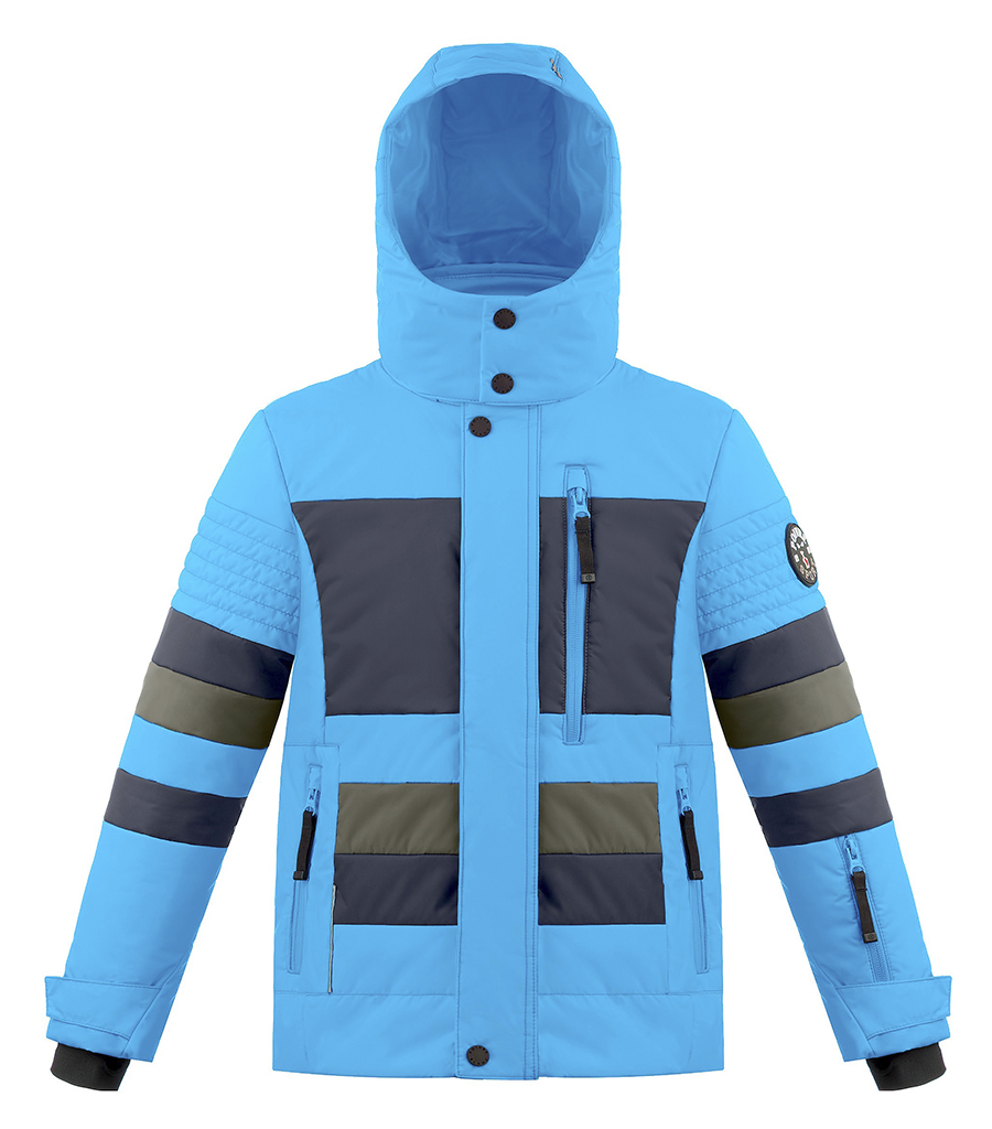 89d12c44ca38 Detská lyžiarska bunda Poivre Blanc W18-0902 JRBY Vivid blue   Multicolor