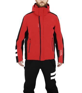 Panska lyzarska bunda OneMore Uno Insulated 22BA RedBlackWhite 1.png
