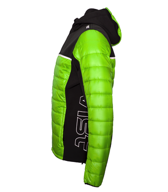Panska podzimni bunda Vist Dolomitica Plus GreenBlack 2.png