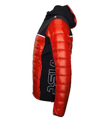 Panska podzimni bunda Vist Dolomitica Plus RedBlack 2.png