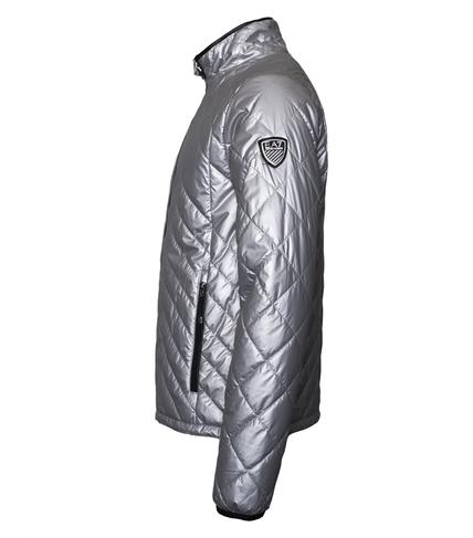 Panska podzimni bunda Emporio Armani EA7 Blouson Jacket Argento 2.png