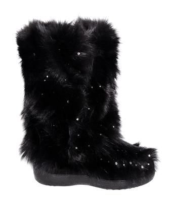Damske zimni boty Diavolezza black fox 613 - nizky podpatek 1.png