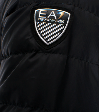 Panska podzimni bunda Emporio Armani EA7 Down Jacket 6ZPB14 Black 3.png
