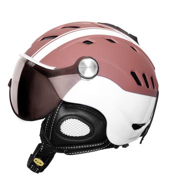 Lyzarska helma se stitem CP Camurai BurlwoodWhite design 1.png