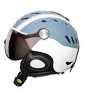 Lyzarska helma se stitem CP Camurai CelesteWhite design 1.png