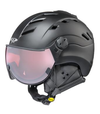 Damska lyzarska helma se stitem CP Camurai PolVario Black 1.png