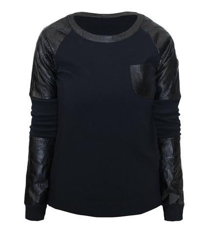 Damsky svetr Emporio Armani EA7 Sweater 6ZTMZ3 Black 1.png