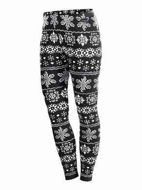 Damske funkcni kalhoty Newland N4 5626 Black White 1.jpg