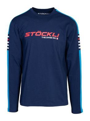 Panske triko Stockli Longsleeve Navy 1.jpg