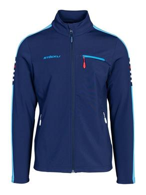 Panska mikina Stockli Technostretch Navy Light Blue 1.jpg