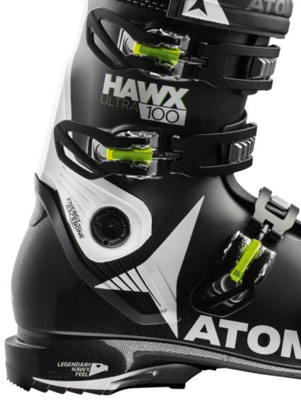 Panske lyzarske boty Atomic Hawx Ultra 100 BlackWhite.png